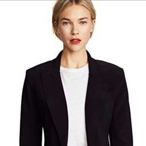 NORMA KAMALI Black Single Breasted Jacket blazer